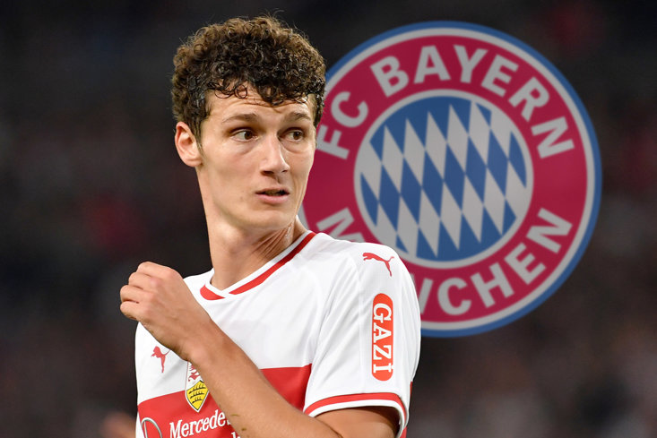 Bayern Munich to sign Benjamin Pavard from Stuttgart