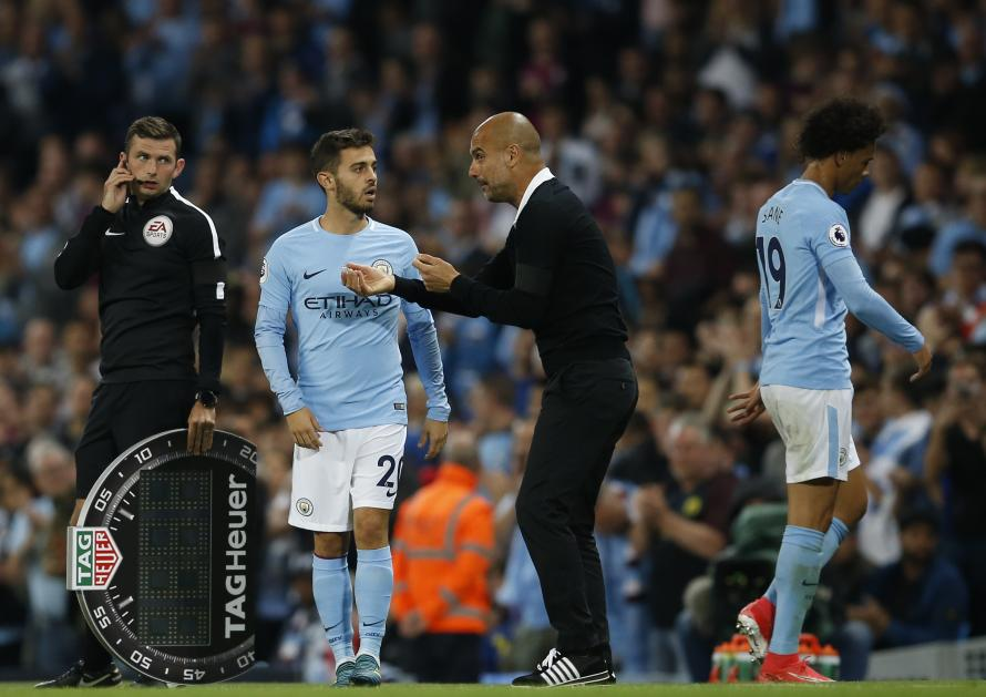 Image result for bernardo silva 2018 pep guardiola