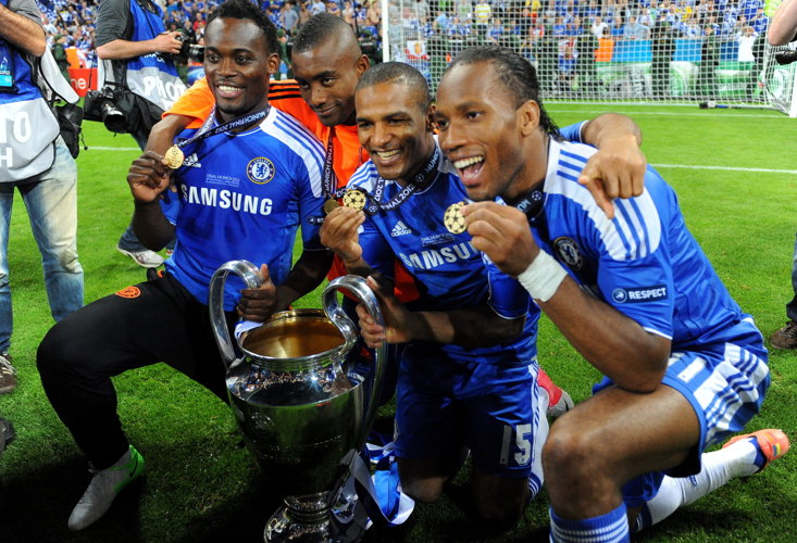 Chelsea were the last English team to win the Champions League (2012)