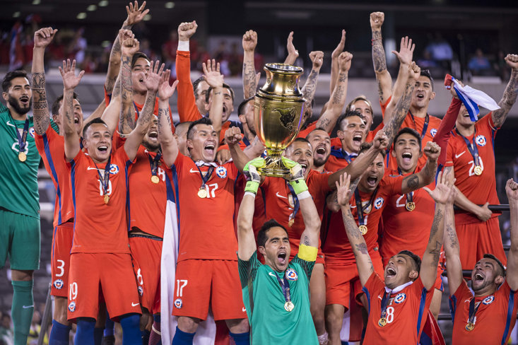 Chile are the holders.