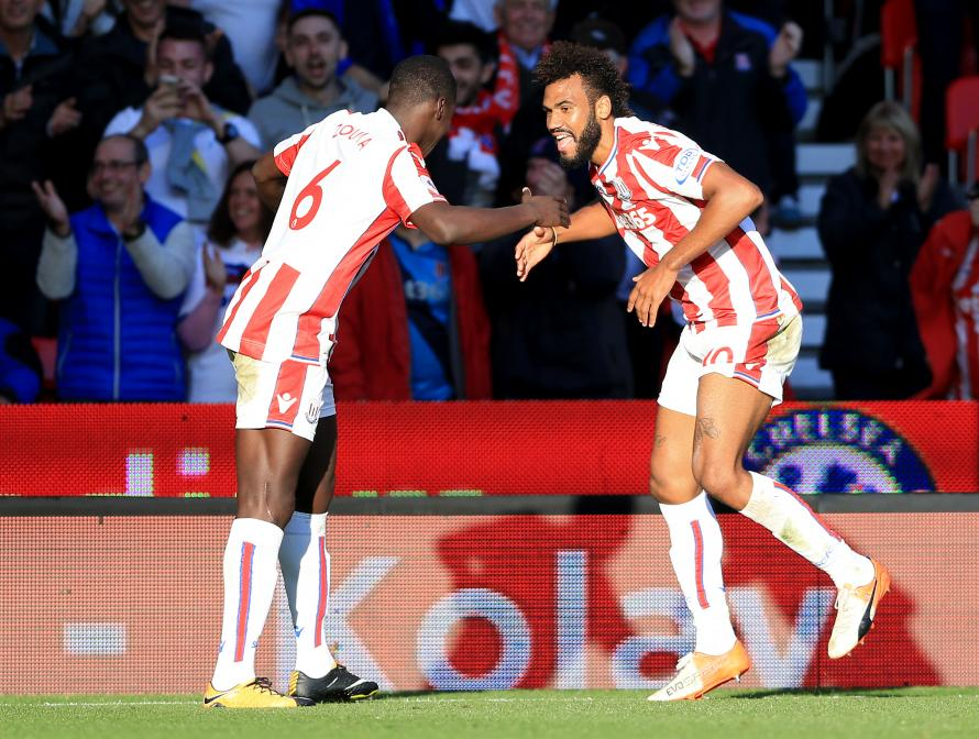 Choupo Moting Gets Stoke Career Off To A Perfect Start