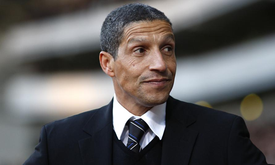 Hughton has lead his side to within three points of the title