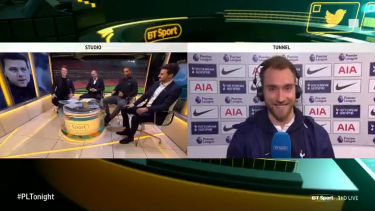 Christian Eriksen Says That Tottenham Are The Best Team In London Now
