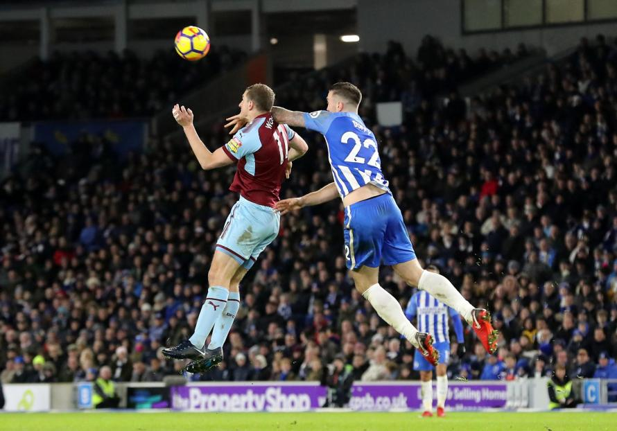 Brighton 0 Burnley 0: Glenn Murray rues missed penalty in forgettable stalemate