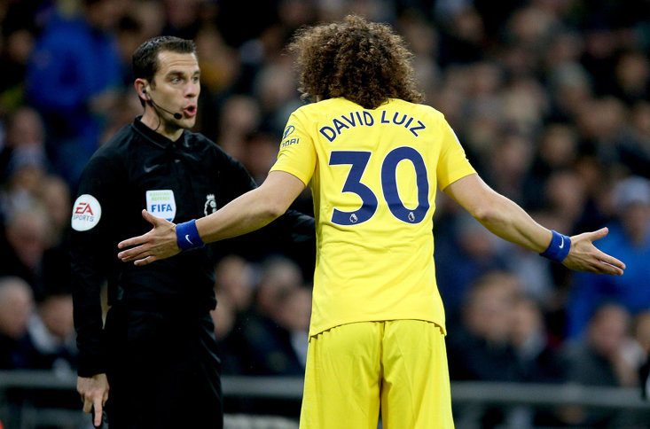 David Luiz Took Huge Criticism From Chelsea Fans Against Tottenham