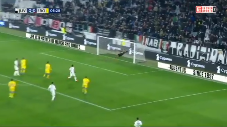 Paulo Dybala Scored A Screamer Against Frosinone
