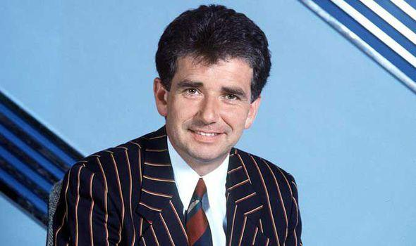 Elton Welsby was the ITV presenter on a night of high drama at Anfield