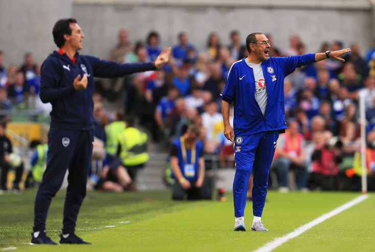 Unai Emery and Maurizio Sarri have their eyes on the prize