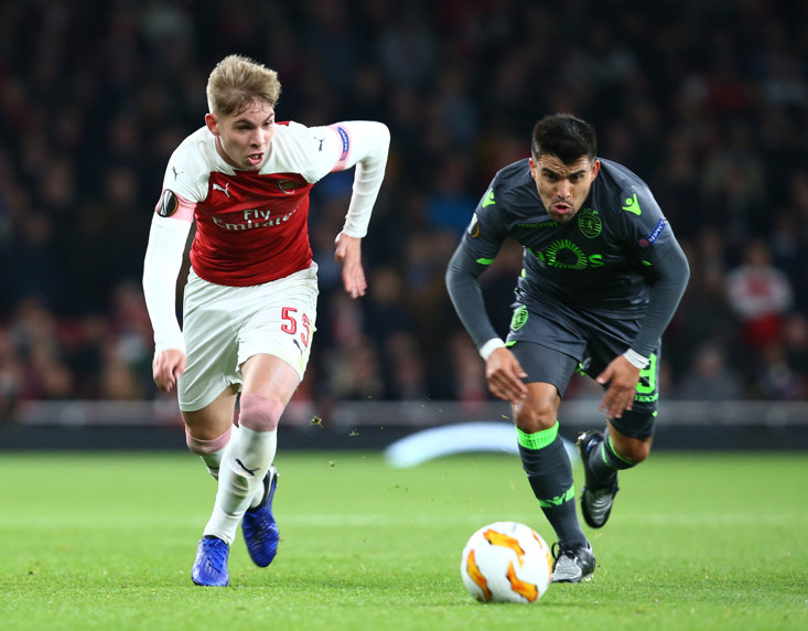 The teenager impressed once more in an Arsenal shirt