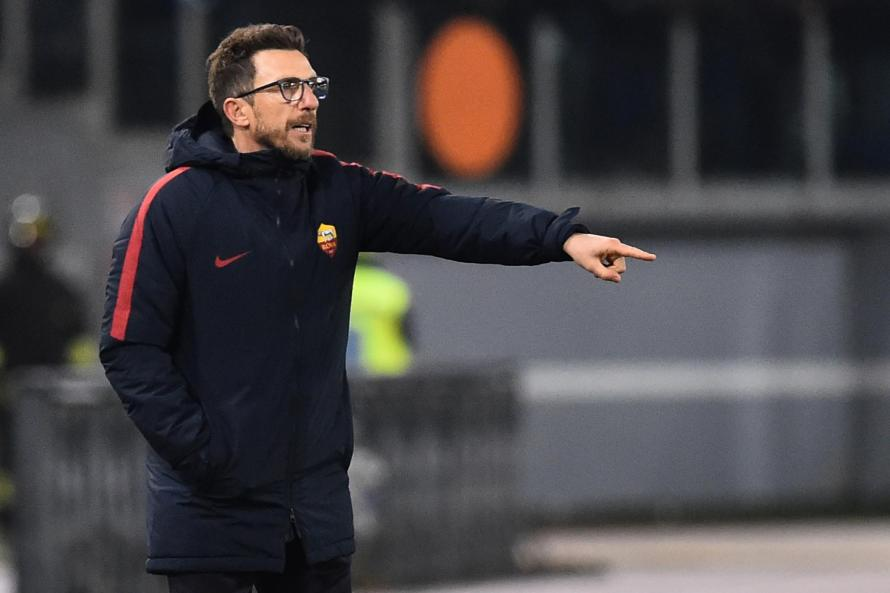 Image result for Eusebio Di Francesco as roma