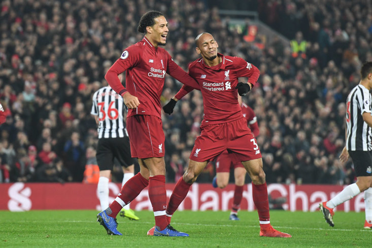Is this likely to be how Liverpool's central defensive partnership looks for January?