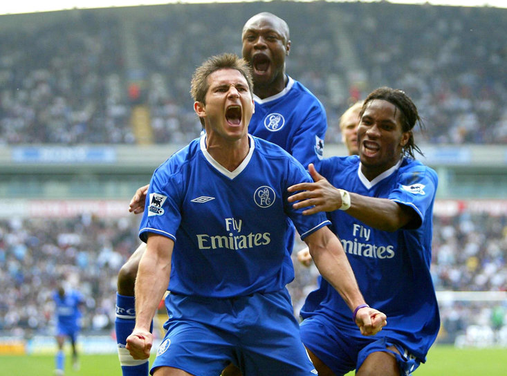 Lampard's brace against Bolton sealed the title