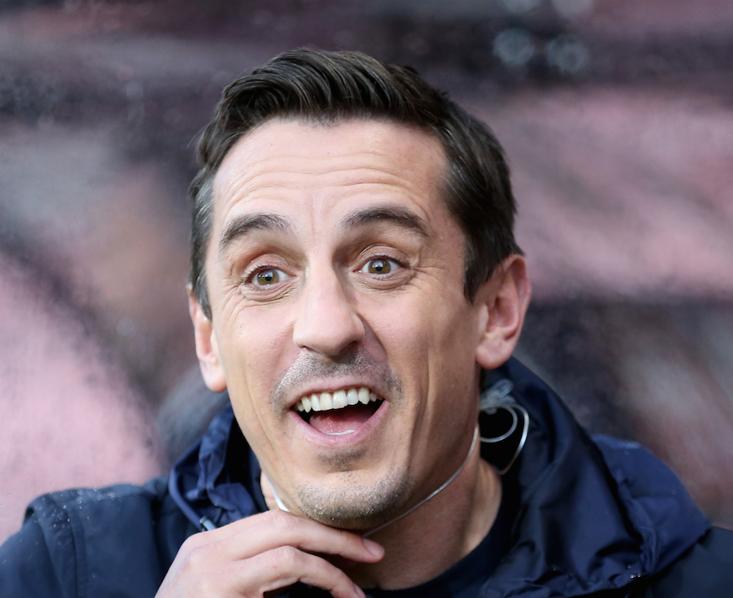 Liverpool man Xherdan Shaqiri continues Gary Neville feud