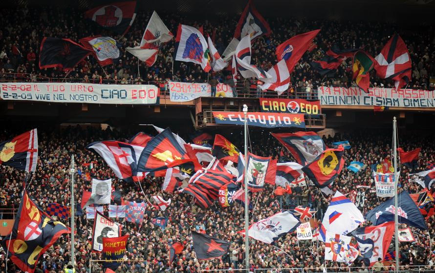 Genoa Are Playing Sampdoria At The Marassi On Sunday Night
