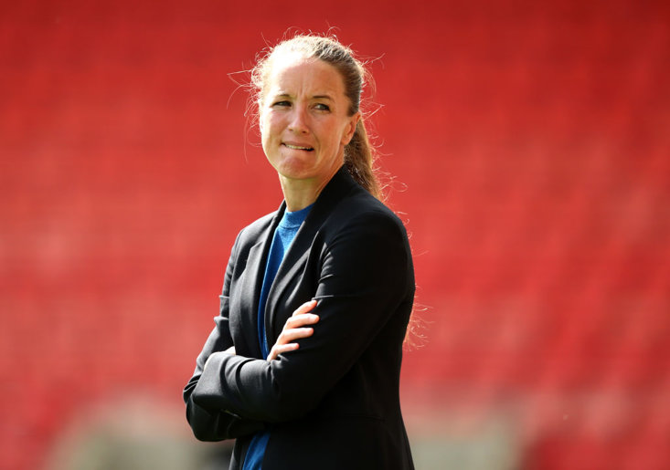 Manchester United Womens boss Casey Stoney says she is frustrated that female athletes get commercial deals based on the way they look