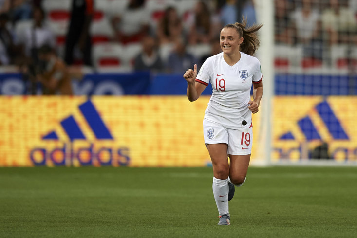 Fans may remember Chelsea's Fran Kirby in action for the Lionesses at this summer's World Cup