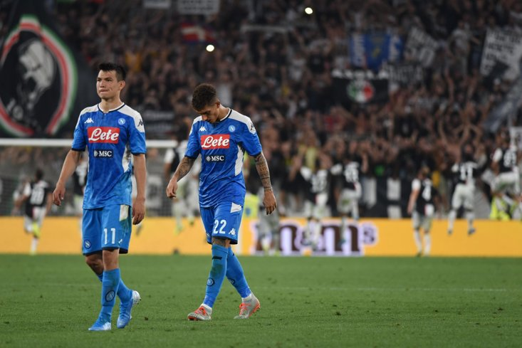 Napoli have conceded seven goals in three Serie A games this season