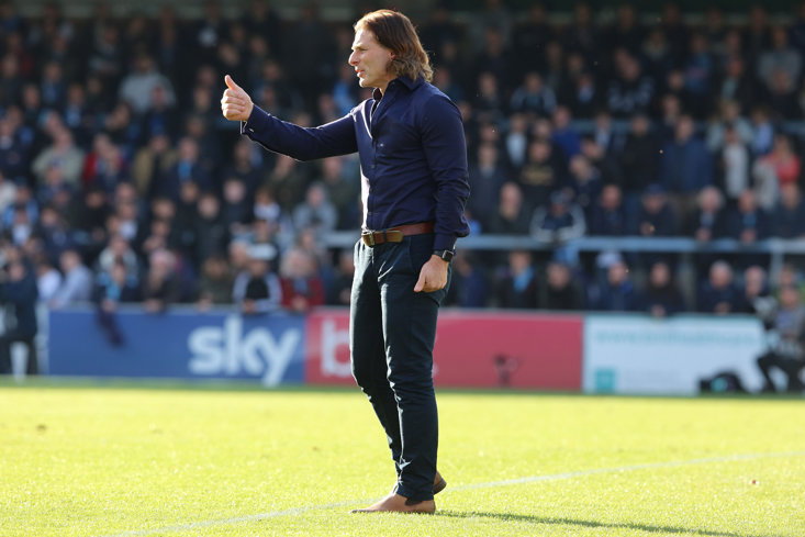 Wycombe manager Gareth Ainsworth (Getty Images)