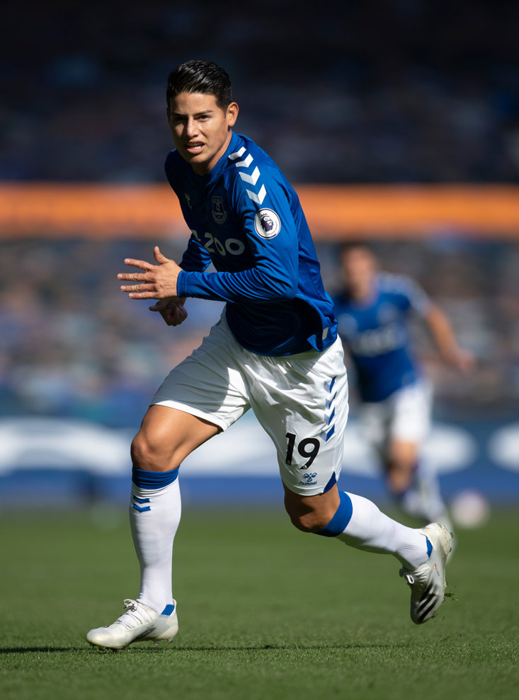 Everton new boy James Rodriguez (Getty Images)