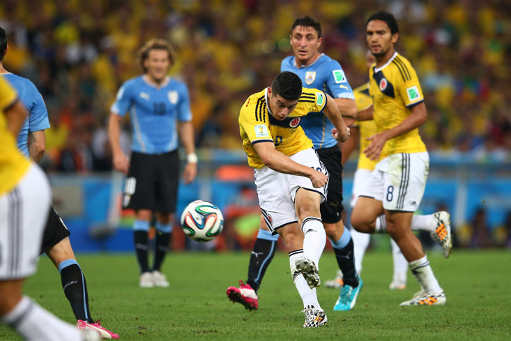 SCORING 'THAT' GOAL FOR COLOMBIA AT THE 2014 WORLD CUP