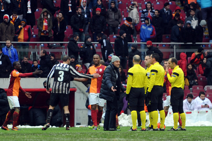 The infamous decider with Galatasaray that ended in misery for Conte