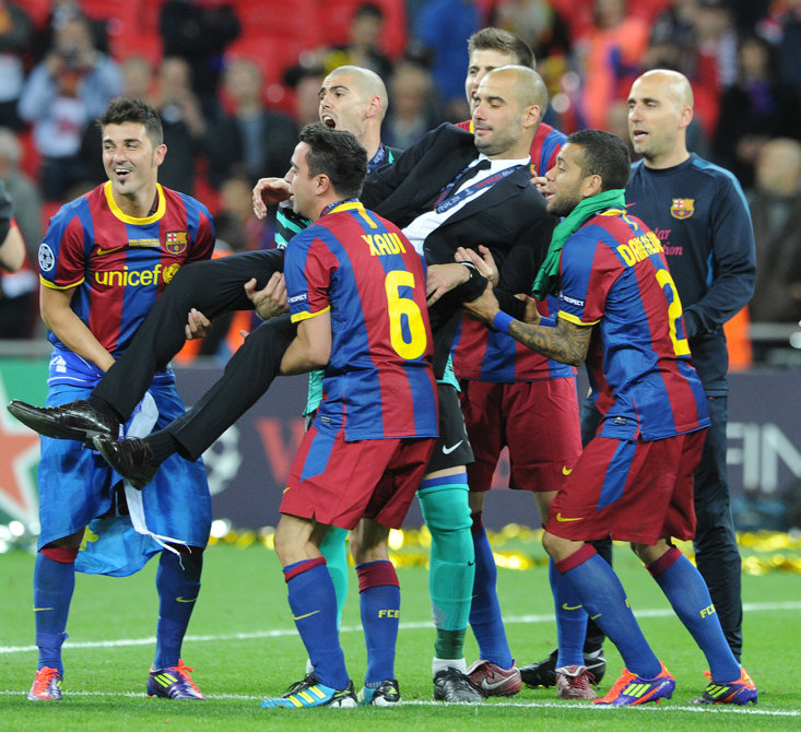 Guardiola's last Champions League win came in 2011 with Barcelona