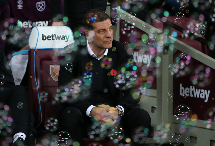West Brom manager Slaven Bilic made 48 appearances for The Hammers as a player between 1996-1997 and managed the club between 2015-2017