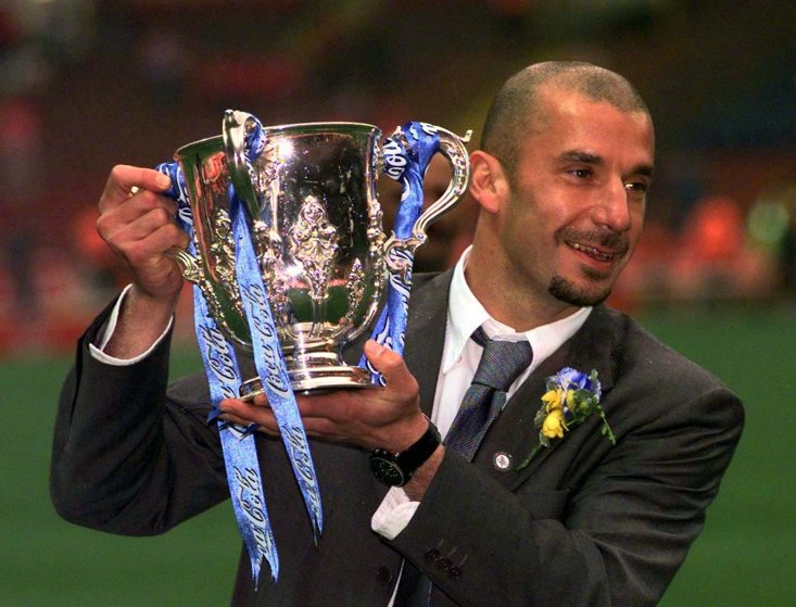 In 1998 Gianluca Vialli became the first Italian to manage in the Premier League