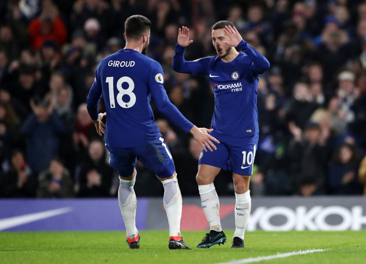 Olivier Giroud can prove to be the ideal strike partner to Eden Hazard