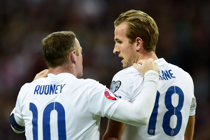 Wayne Rooney leads the all-time England goal scorer list