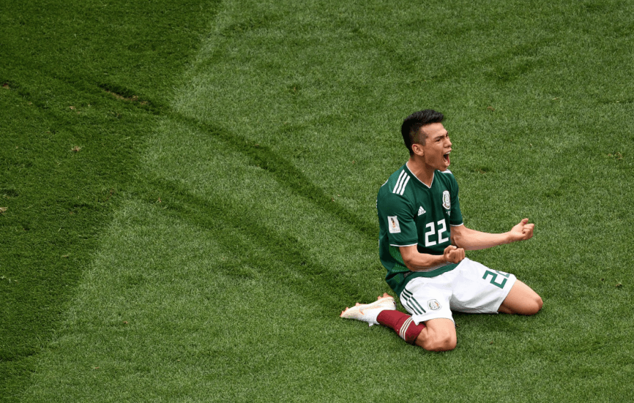 Mexico stun Germany as Brazil are held at World Cup