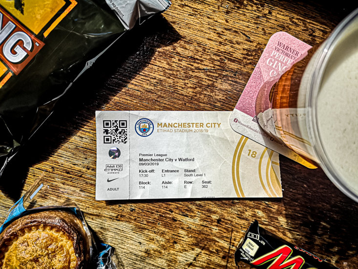 Manchester City fans would have needed to splash the cash to follow the Blues every step of the way.