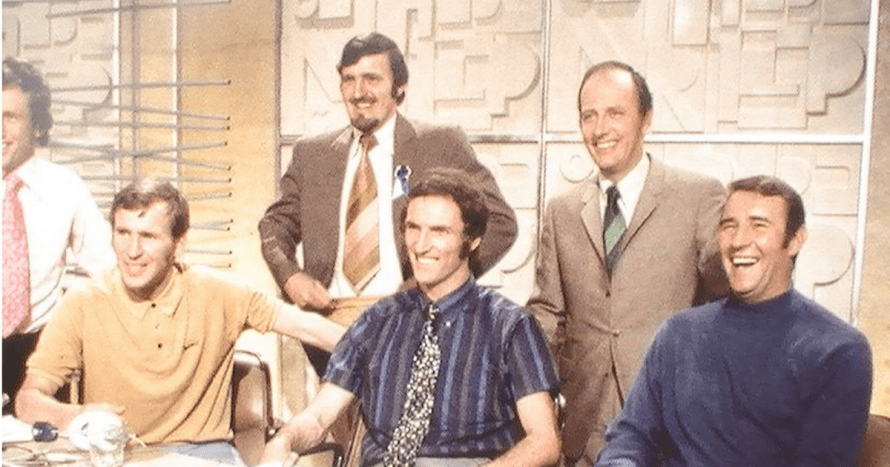 The original World Cup panel was full of stars