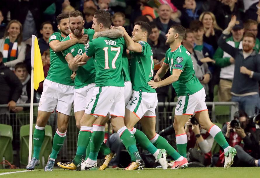 IRELAND ARE THIRD SEEDS IN THEIR GROUP