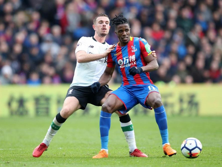 Wilfried Zaha can mark a milestone with a stellar performance for Crystal Palace against Liverpool tonight.