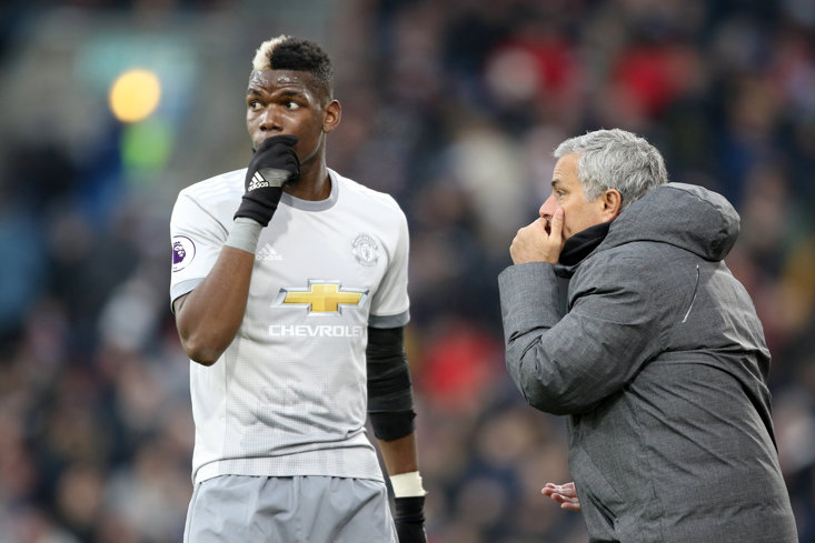Jose Mourinho and Paul Pogba have reportedly repaired their fractured relationship