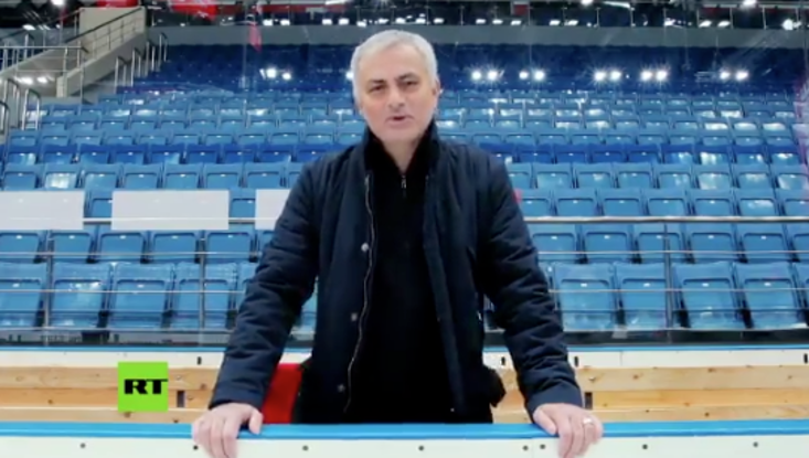 Mourinho to get his own TV show in Russia