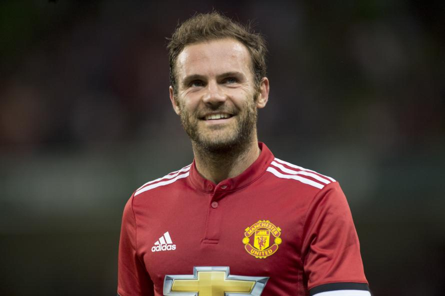 Juan Mata is out of contract at the end of the season at Old Trafford
