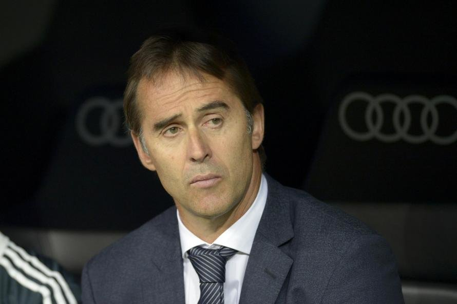 It was business as usual for Julen Lopetegui at real Madrid today