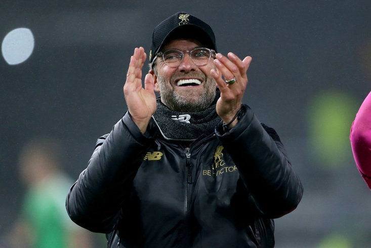 Jurgen Klopp and fellow German gaffer Daniel Farke are both chasing titles