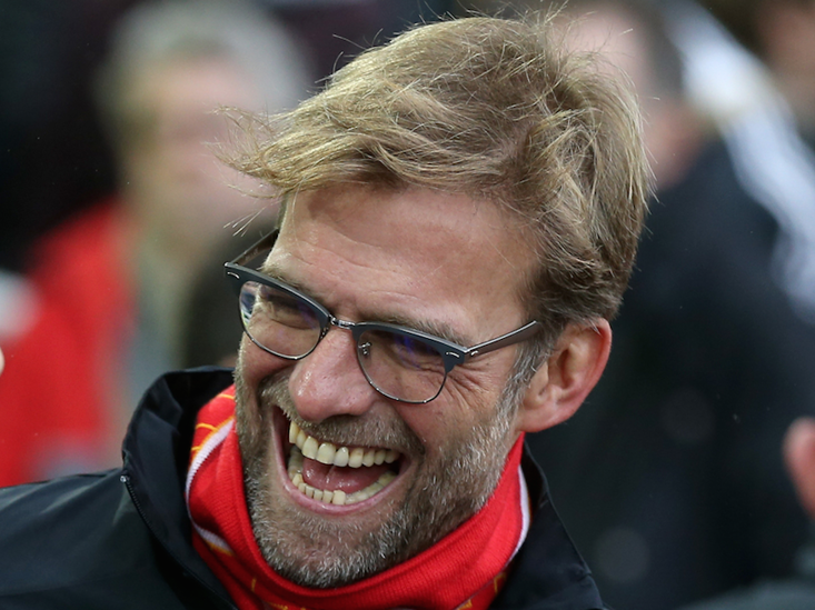 Jurgen Klopp's men are the only team yet to lose in the league this season