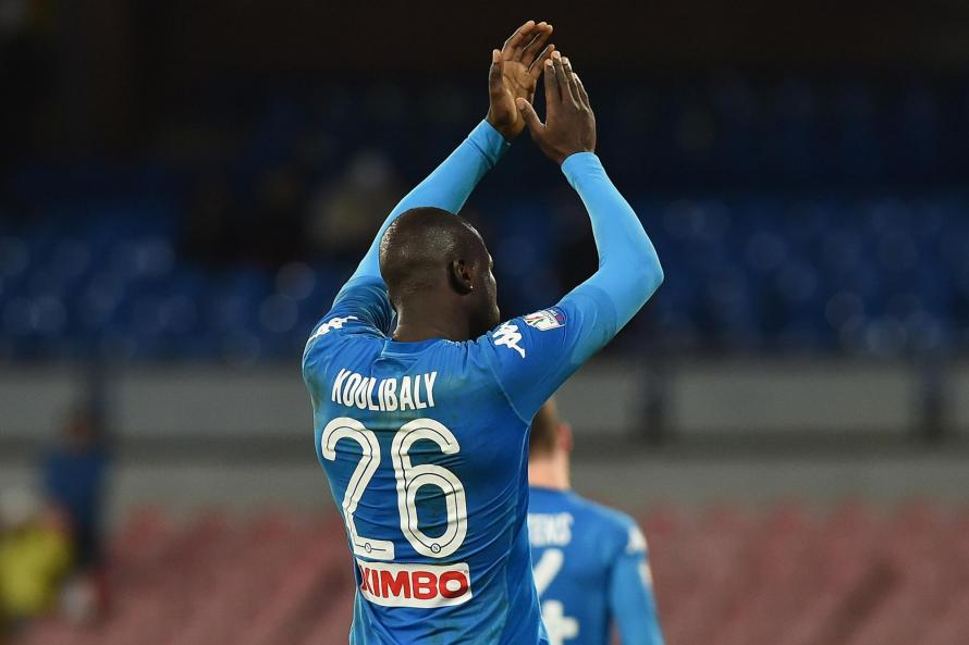 Napoli's Kalidou Koulibaly could be Manchester-bound...