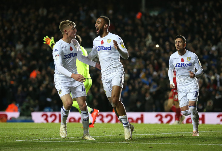 Kemar Roofe scored the most controversial goal of the weekend