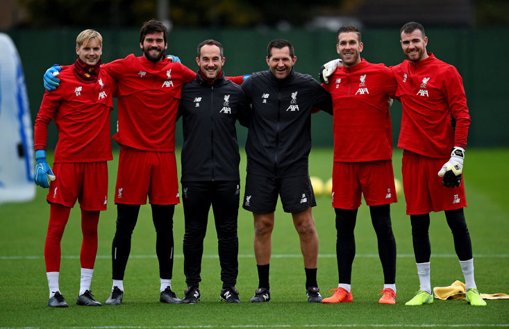 LEFT TO RIGHT: CAOIMHIN KELLEHER, ALISSON BECKER, JACK ROBINSON, JOHN ACHTERBERG, ADRIAN AND ANDY LONERGAN
