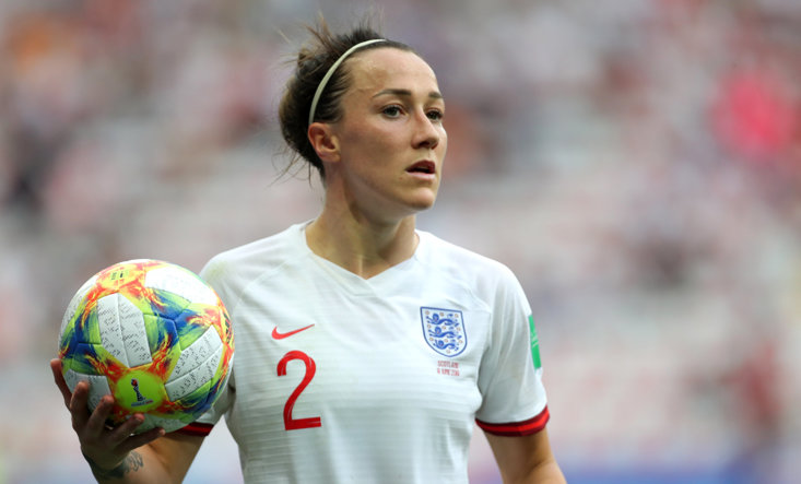 Lucy Bronze is England's star player