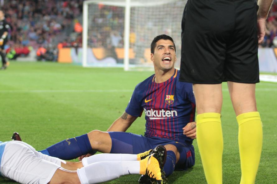 Luis Suarez Has Struggled For Form For Barca This Season