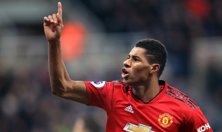 Rashford has been in sizzling form for Man Utd