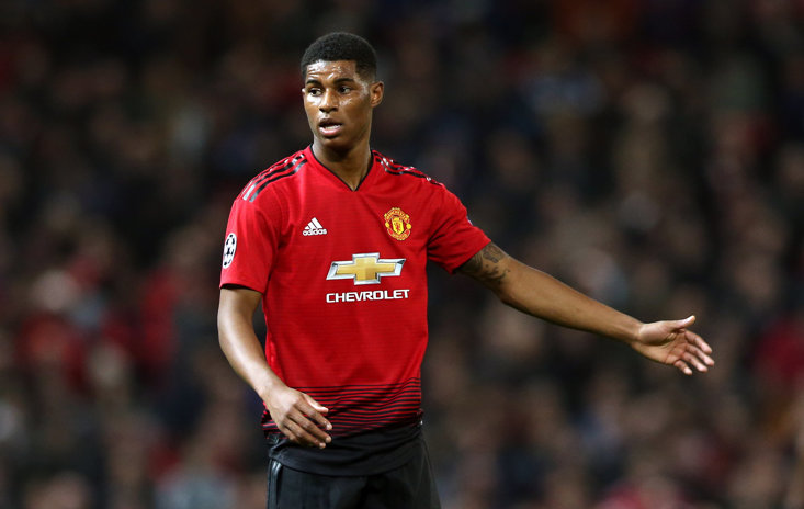 Marcus Rashford was in superb form for Manchester United in their win over Bournemouth today