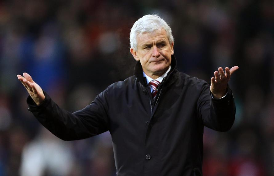 Mark Hughes is under severe pressure at Southampton and tonight they welcome Manchester United to St Mary's