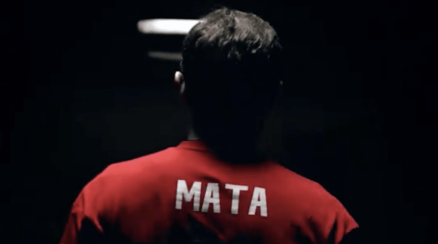 Juan Mata has been recruited to model the 2018/19 home shirt